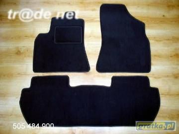 Citroen C15 5-osób 1984-2005 najwyższej jakości dywaniki samochodowe z grubego weluru z gumą od spodu, dedykowane Citroen C1