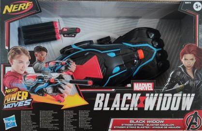 Czarna Wdowa Avengers Nerf Blaster Rękawica Wyrzutnia Black Widow