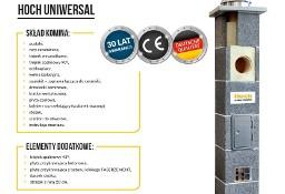 Komin systemowy, ceramiczny HOCH Uniwersal.