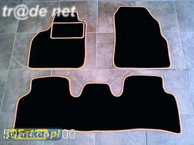Renault Scenic II 2003-2009 najwyższej jakości dywaniki samochodowe z grubego weluru z gumą od spodu, dedykowane Renault Scenic-1