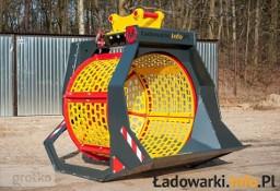 Przesiewacz - łyżka przesiewająca - napęd hydrauliczny