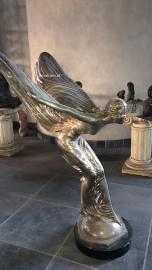 """Rzeźba Latająca Kobieta """"ROLLS-ROYCE"""" Spirit of Ekstasy H150cm HIT"""