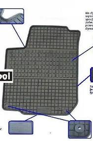 SKODA RAPID 2012- dywaniki gumowe FG Skoda Rapid-2