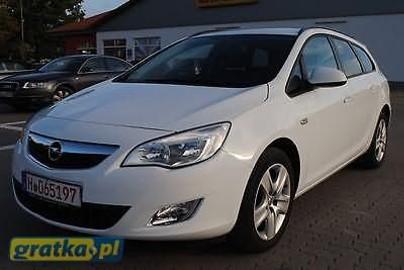 Opel Astra J ZGUBILES MALY DUZY BRIEF LUBich BRAK WYROBIMY NOWE