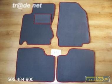 Nissan Note od 03.2006r. najwyższej jakości dywaniki samochodowe z grubego weluru z gumą od spodu, dedykowane Nissan Note-1
