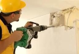 Skuwanie Betonu Płytek , Wyburzanie ścian , Rozbiórka, Kucie Betonu