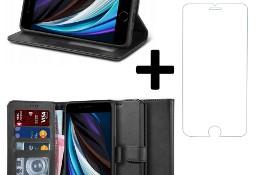 Etui Portfel II + szkło płaskie do iPhone 7 / 8