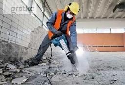 Skuwanie Płytek Posadzek betonu , Wyburzanie ścian, Rozbiórka ,Kucie