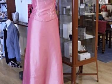Komplet , suknia + bolerko-1