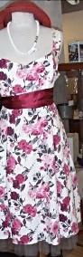 Komplet , suknia + bolerko-4