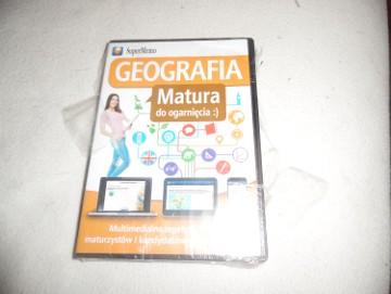 Geografia matura do ogarnięcia -płyta CD