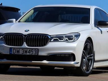 BMW SERIA 7 740xd Biała Perła Masaż 360° Laser Komforty HeadUp-1