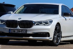 BMW SERIA 7 740xd Biała Perła Masaż 360° Laser Komforty HeadUp