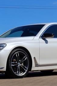 BMW SERIA 7 740xd Biała Perła Masaż 360° Laser Komforty HeadUp-2