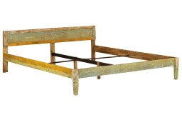 vidaXL Rama łóżka, lite drewno mango, 180x200 cm 246334