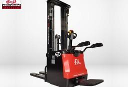 Nowy elektryczny wózek paletowy-masztowy - podnośnikowy EP ES16-RS 5500 Li-ion , TRIPLEX 1.6T 5.5M
