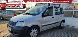 Fiat Panda II 1.2 69 KM Benzyna+GAZ klimatyzacja gwarancja