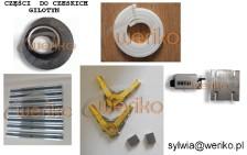 *Części zamienne do czeskiej gilotyny NTH 3150/10 *
