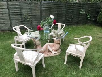 Przepiękny zestaw tarasowo-ogrodowy, lub do zimowego ogrodu
