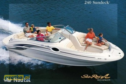 Sea Ray 240 Sundeck 2002r. 5.0 MPI