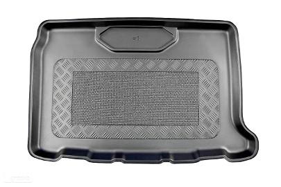 DS 3 Crossback od 04.2019 r. do teraz wersja z subem mata bagażnika - idealnie dopasowana do kształtu bagażnika Citroen DS
