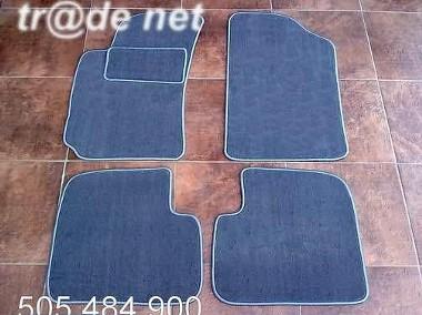 Toyota Avensis I 1998-2002 Sedan, Liftabck, Kombi najwyższej jakości dywaniki samochodowe z grubego weluru z gumą od spodu, dedykowane Toyota Avensis-1