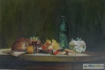 Słój z oliwkami - wg.J.Chardina