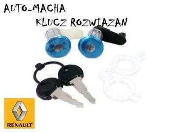 Renault Clio II Megane Master wkładki zamka NOWY WYSYLKA