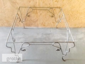 Ława - stół ręcznie Kuta zdobiona