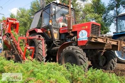 Zamienie duze ilosci ziemniakow na maszyny,plugi,agregaty,sprzet.