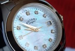 Damski Zegarek Rotary Swiss Z Kamieniami Swarovskiego