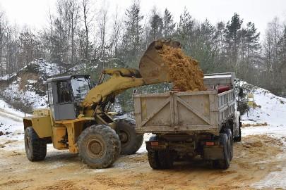Kamień kruszywo gruz pospółka niesortowany kopalnia Radomsko tanio
