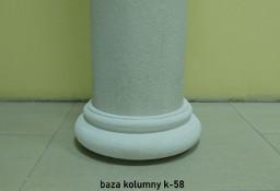 baza kolumny pokrywana k-58 średnice 21, 26, 31, 36 cm