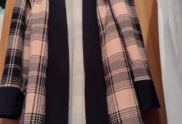 (S/M) Długi płaszcz letni z Londynu/ narzutka plażowa/ jak NOWA