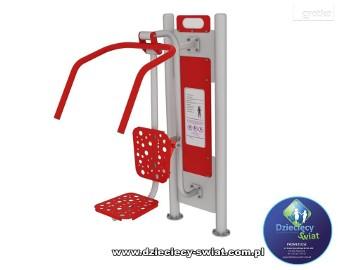 Podciąg wyciąg górny siłownia zewnętrzna fitness plac zabaw