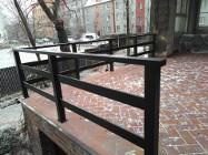 Balustrada metalowa prosta