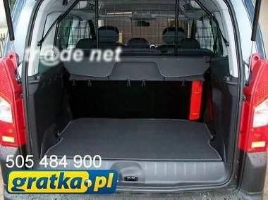 Fiat Doblo II 5 osobowy od 2010 do 2015 r. najwyższej jakości bagażnikowa mata samochodowa z grubego weluru z gumą od spodu, dedykowana Fiat Doblo-1
