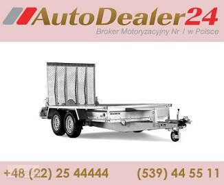 AutoDealer24.pl [NOWA FV Dowóz CAŁA EUROPA 7/24/365] 260 x 126 x 25 cm Brenderup MT-2600