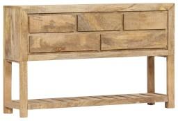 vidaXL Szafka, 120x30x75 cm, lite drewno mango247479