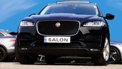 Jaguar F-Pace Panorama*Meridian *Kamera*Fotele Elekt.+Grzane*Hak