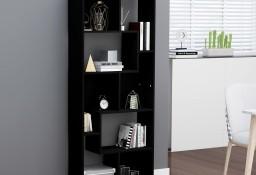 vidaXL Regał na książki, czarny, 67x24x161 cm, płyta wiórowa 801878