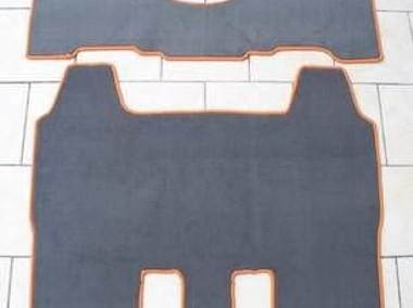 Honda Element 2003-2007 wersja USA, automat 2 rzędy najwyższej jakości dywaniki samochodowe z grubego weluru z gumą od spodu, dedykowane Honda-1