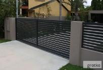 Brama wjazdowa przesuwana profil 60x40 długość 5 m Naprawa bram faac