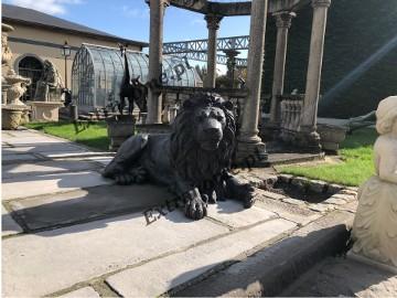 Król Lew , Lew z brązu 145cm , figura z brązu