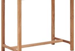 vidaXL Stolik barowy do ogrodu, 110x65x105 cm, lite drewno tekowe287234