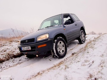 Toyota RAV 4 I 2.0 Benz 129 KM 4x4 *AUTOMAT* 2 KPL KÓŁ Skóra