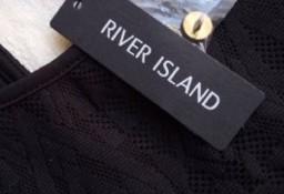 (XXS/32) RIVER ISLAND/ Długa, ołówkowa, koronkowa sukienka plażowa/ NOWA