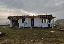 OKAZJA!!! Dom w budowie wg. projekt ALFA II 127,49 m2 , Lisów gm. Morawica!
