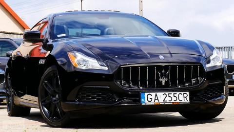 Maserati Quattroporte VI 4x4 500 koni Max Opcja Lift na 2017' mega wygląd