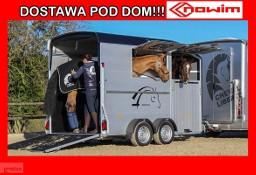 17.190 Przyczepa do koni Debon Cheval Liberte Duomax koniara koniowóz Nowość wózek do koni transport zwierząt owiec bydła kóz krów ...